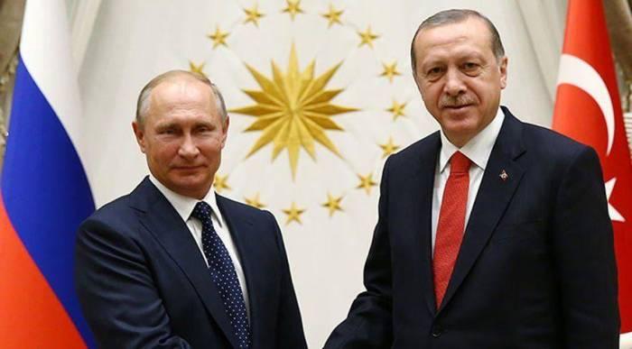 """بوتين  : """"العمل مع أردوغان ممتع وموثوق"""""""