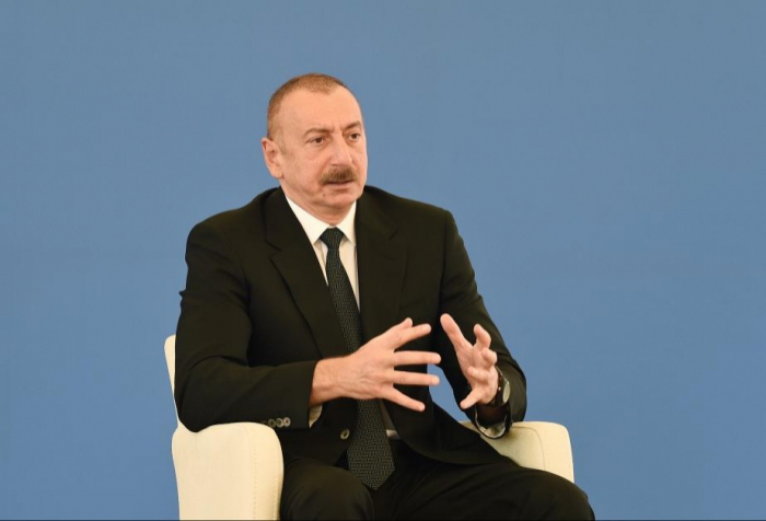 """""""لن يكون هناك استفتاء في كاراباخ"""" -   إلهام علييف"""