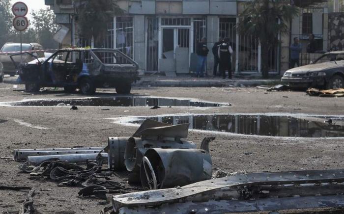 """""""Amnesty International"""" Bərdəyə kasetli bomba atıldığını təsdiqlədi"""