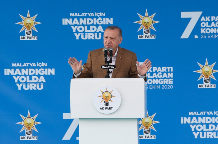 Impose the sanctions already, whatever they may be - Recep Tayyip Erdogan
