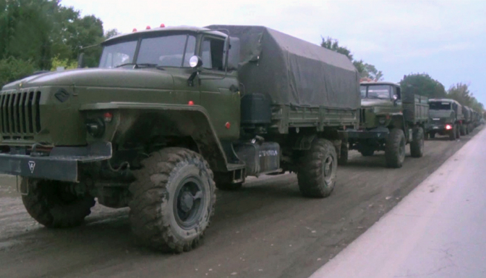 Video  of military equipment left on the battlefield by Armenian servicemen while fleeing