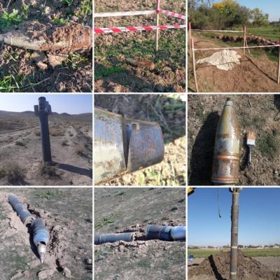 Misiles, proyectiles de artillería y drones se neutralizan en las áreas de primera línea