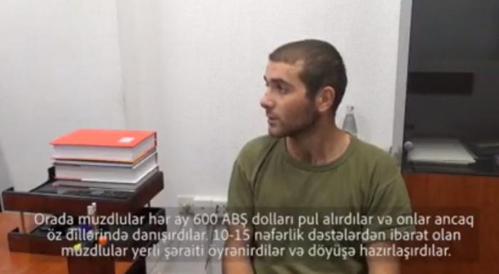 El prisionero armenio admite que Armenia trae mercenarios a Karabaj-  VIDEO