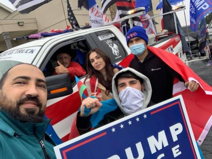 احتجاج على إرهاب كنجة خلال حملة ترامب الانتخابية - صور