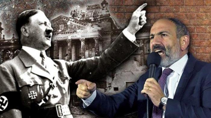Oxşar ssenari:  Paşinyan hər addımında Hitleri təkrarlayır -  TƏHLİL