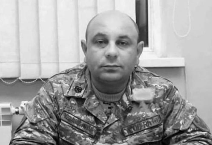 Erməni polkovnik məhv edildi