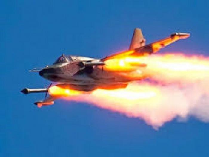 Azerbaiyán derriba el avión de combate de Armenia