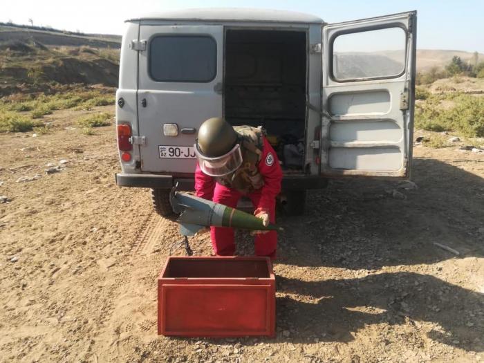 Top mərmiləri, raket başlığı aşkarlandı-