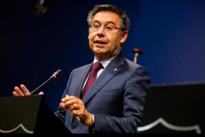 """""""Barselona""""nın prezidenti istefa verdi"""