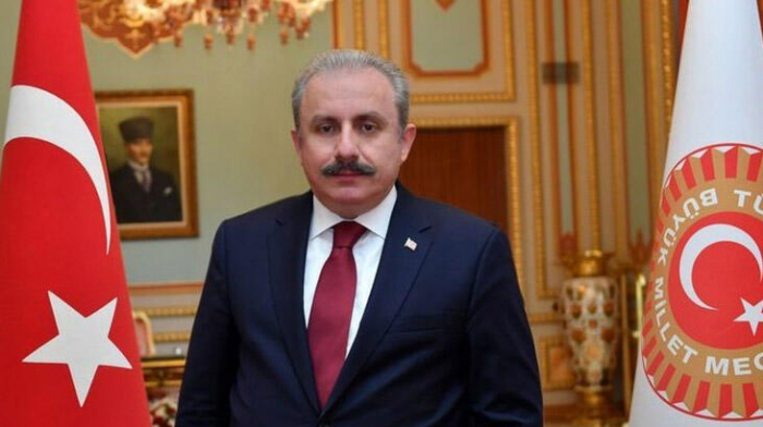 Mustafa Şentop Milli Məclisdə çıxış edəcək