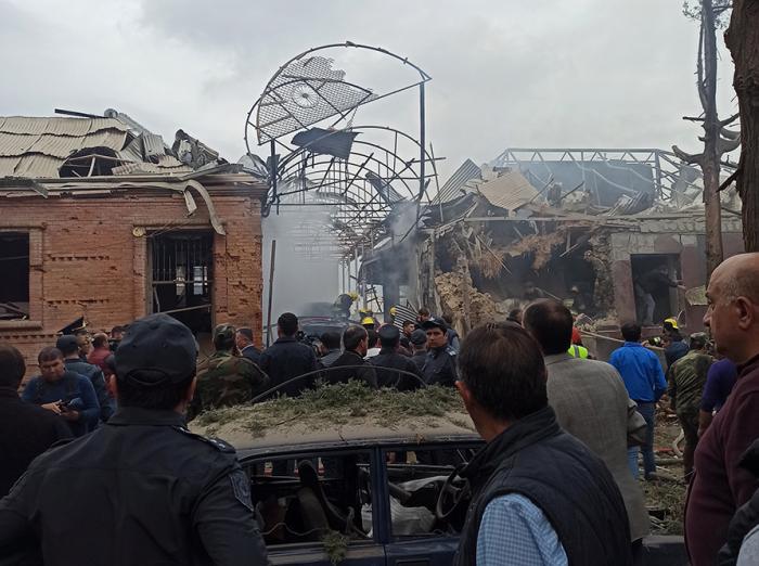 Shooting down of military facilities in Ganja is false information - Azerbaijan MoD