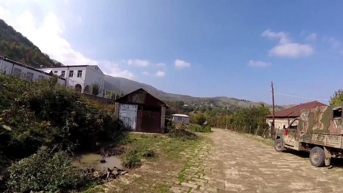 Xocavəndin işğaldan azad olan kəndlərinin görüntüsü -  VİDEO