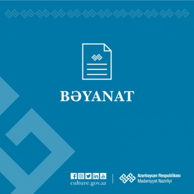 El Ministerio de Cultura emitió una declaración sobre la profanación armenia de una mezquita en Zanguilán
