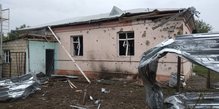 Armenia shells Terter city and its villages