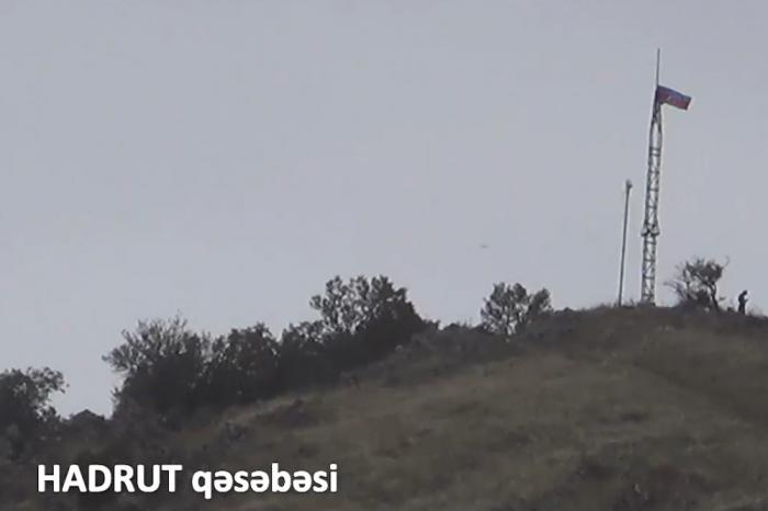 İşğaldan azad olunan Hadrutdan görüntülər -    VİDEO