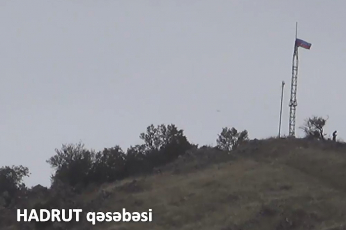 Azerbaijan releases  video footage  of Hadrut settlement liberated from occupation