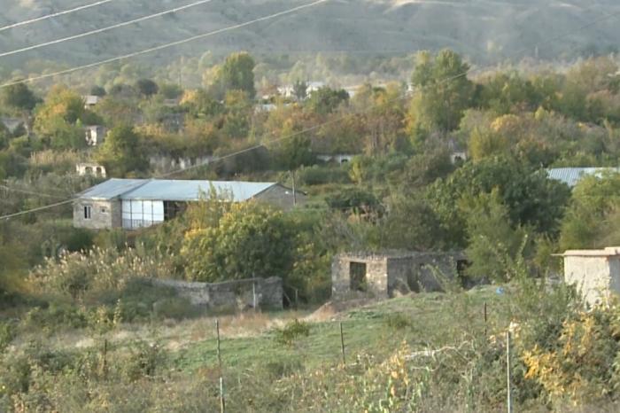 Qubadlının azad olunan Qiyaslı və Sarıyataq kəndləri -  VİDEO