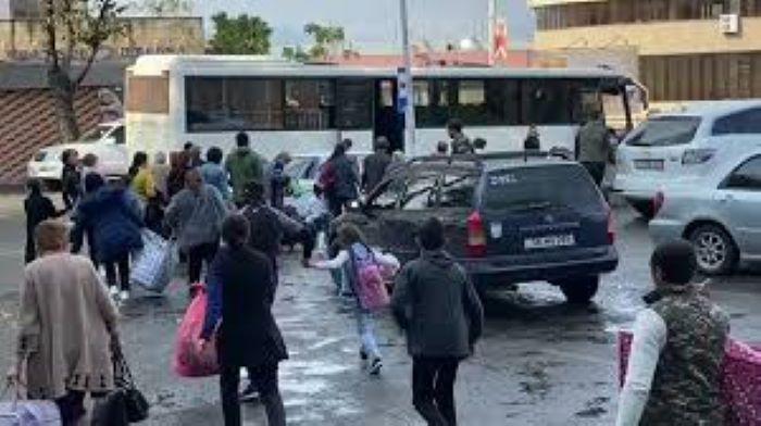 Armenians leave Karabakh