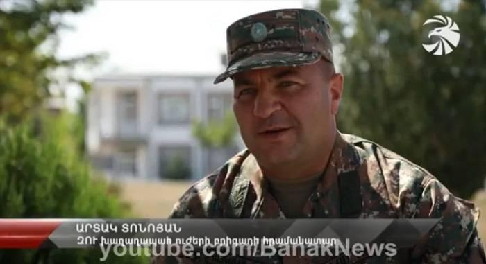 Erməni generalı -