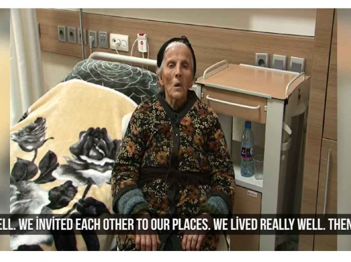 """Azerbaijani soldiers rescued us"" - 85-year-old Armenian woman - VIDEO"