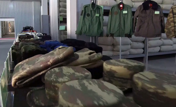 The supply of Azerbaijan Army troops participating in the battles is at a high level -   VIDEO