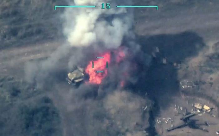 Armenische Artillerieeinheiten und Kommandoposten zerstört -   VIDEO