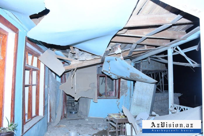 PHOTOS   from Ganja hit by Armenian missile attack