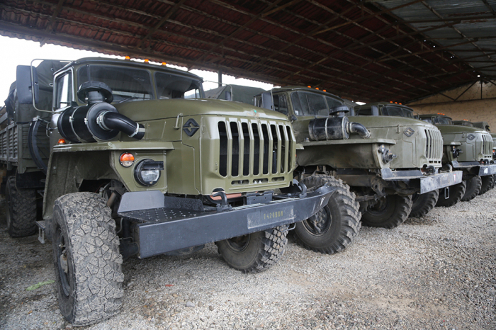 PHOTOS   of Armenian armament and military equipment captured by Azerbaijan