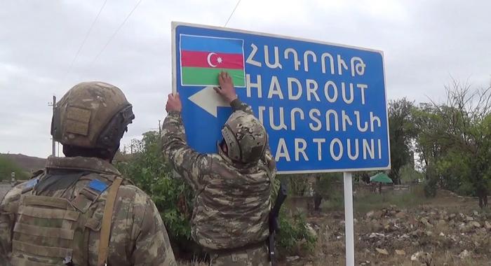 Azerbaijan presentsvideo of Shukurbayli village liberated from occupation