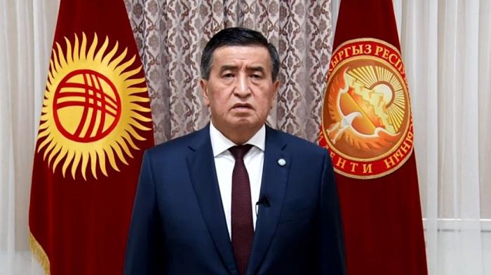 """""""Əmr etdim ki, atəş açmayın""""  - Qırğızıstan Prezidenti xalqa müraciət etdi"""