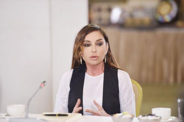 """""""Bu gün Prezident başda olmaqla Azərbaycan xalqı yeni tarix yazır"""" -  Mehriban Əliyeva"""