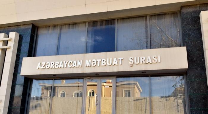 Mətbuat Şurası xarici media qurumlarına müraciət etdi