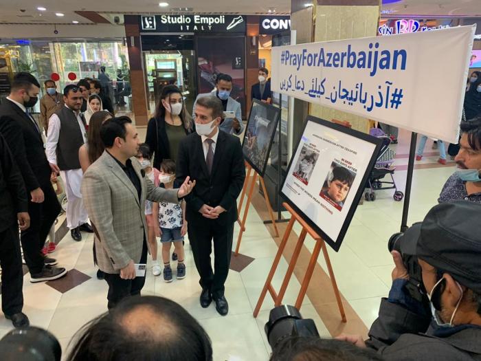 Memory of victims of Ganja Terror honored in Islamabad