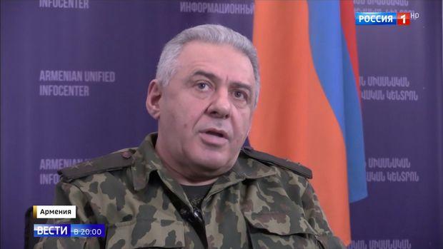 Paşinyanın müşaviri Ermənistanın mülki əhalini hədəf aldığını etiraf etdi