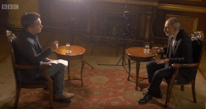 Paşinyanın növbəti BBC rüsvayçılığı -  VİDEO