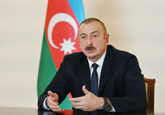Ilham Aliyev spricht über die Zukunft von Karabach