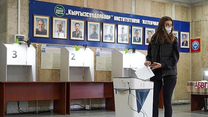 Qırğızıstan MSK seçkilərin nəticələrini etibarsız saydı
