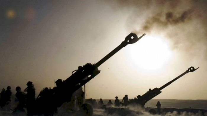 Azerbaijani Tartar, Aghdam, and Aghjabedi districts come under artillery fire