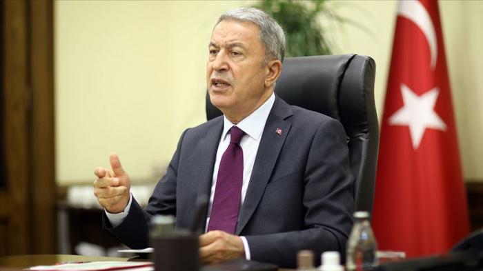 """Hulusi Akar:  """"Daha 30 il gözləyə bilmərik"""""""