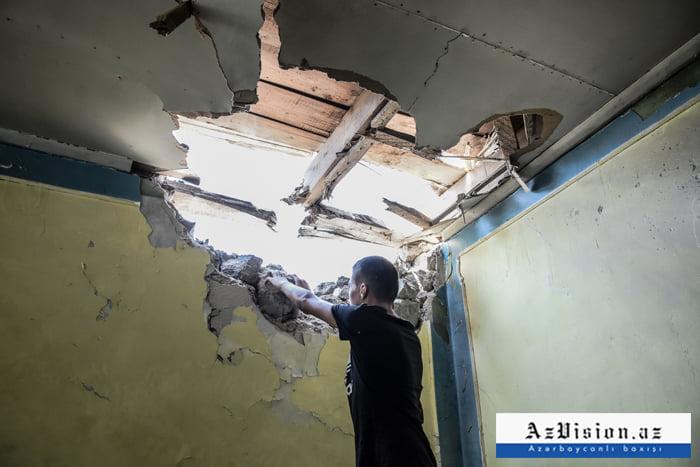 Erməni vandalizmi:    163 ev və 36 mülki obyektə ziyan dəyib