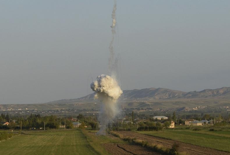 QHT-lər Ermənistanın fosforlu silahdan istifadə etməsinə dair bəyanat yaydı
