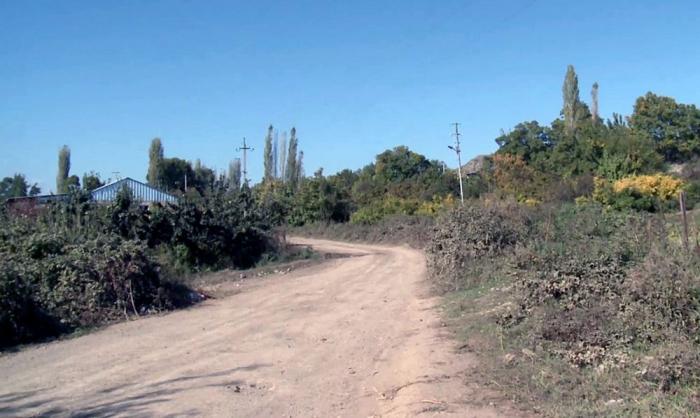 لقطات من قرية خانليغ المحررة في قوبادلي -   فيديو