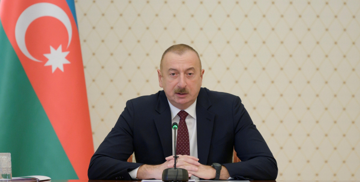 President Aliyev: Armenia has extensively used foreign mercenaries