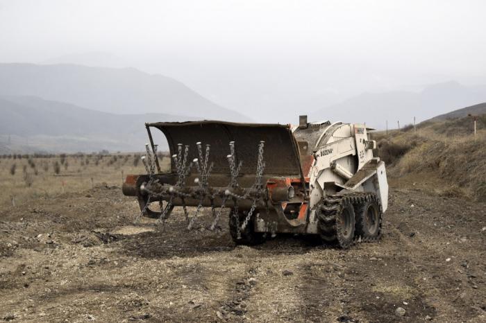 سوغوفوشان تم تطهير الطريق من الألغام-   الصور