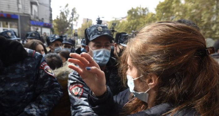 Massenproteste erschreckt Paschinyans Regierung
