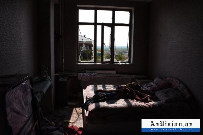Erməni təxribatı nəticəsində 2488 ev yararsız vəziyyətə düşüb