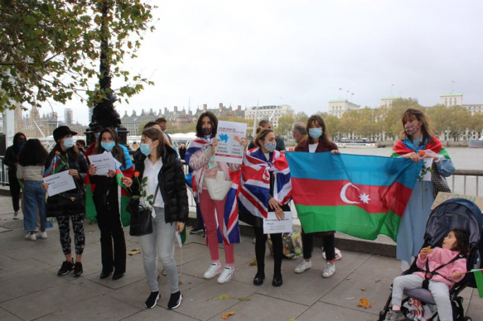Azerbaijani community in London held remembrance day for victims of Barda