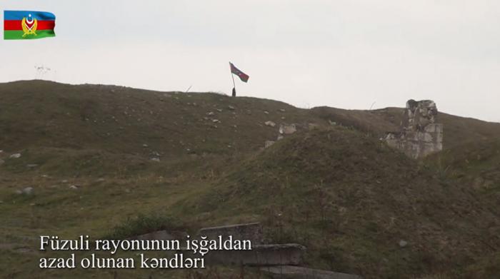 Füzulinin işğaldan azad olunan kəndləri -  VİDEO