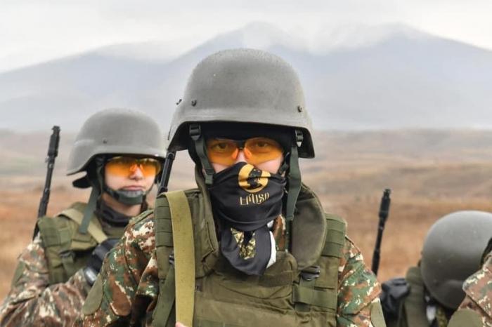 """Akopyanın """"hərbi təlimləri"""" Ermənistanda etirazla qarşılandı -  FOTOFAKT"""