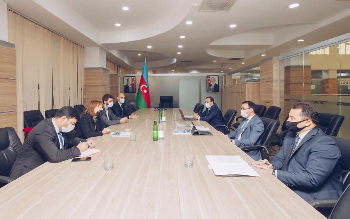 Dövlət Agentliyinin sədri GİZ-in nümayəndə heyətilə görüşüb
